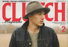 「CLUTCH 2月号 × men's file」