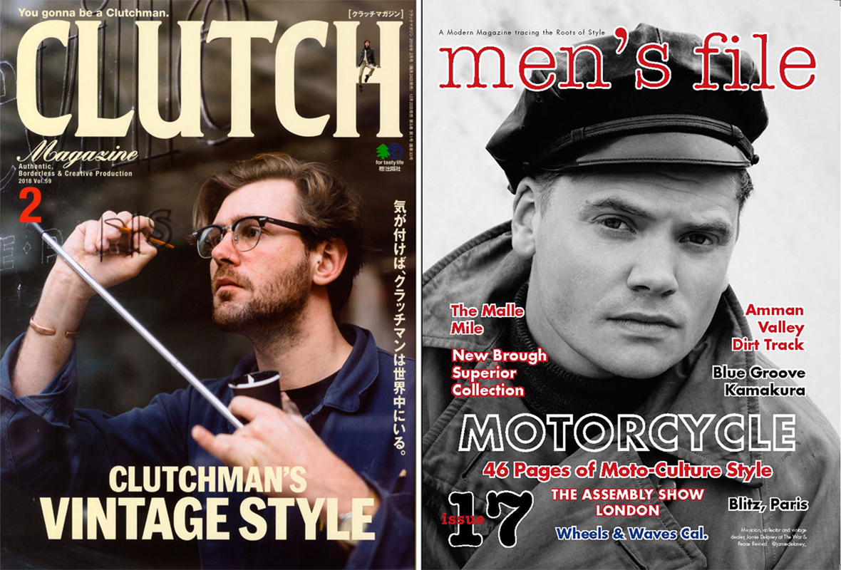 CLUTCH MAGAZINE×men's file Vol.59