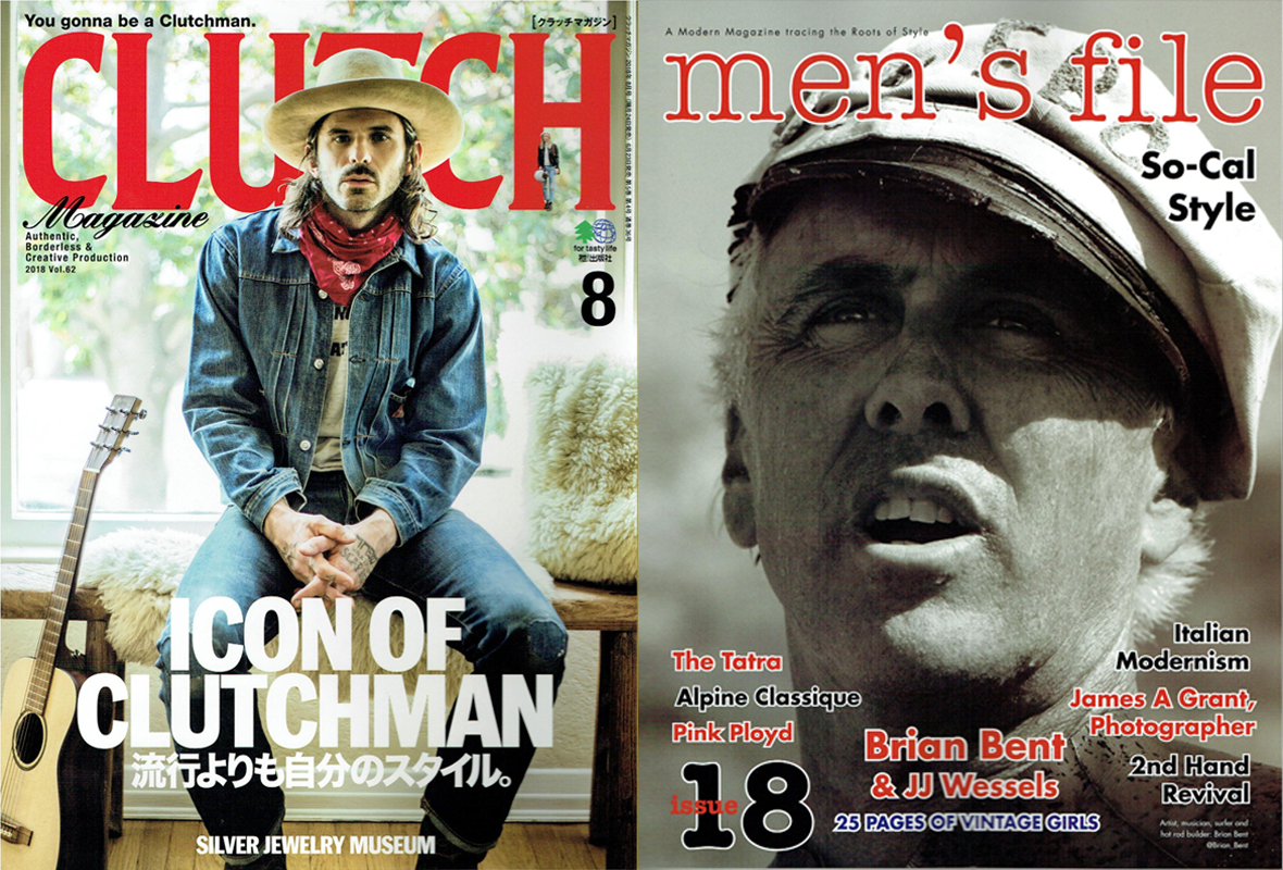 【CLUTCH Magazine×men's file Vol.62】