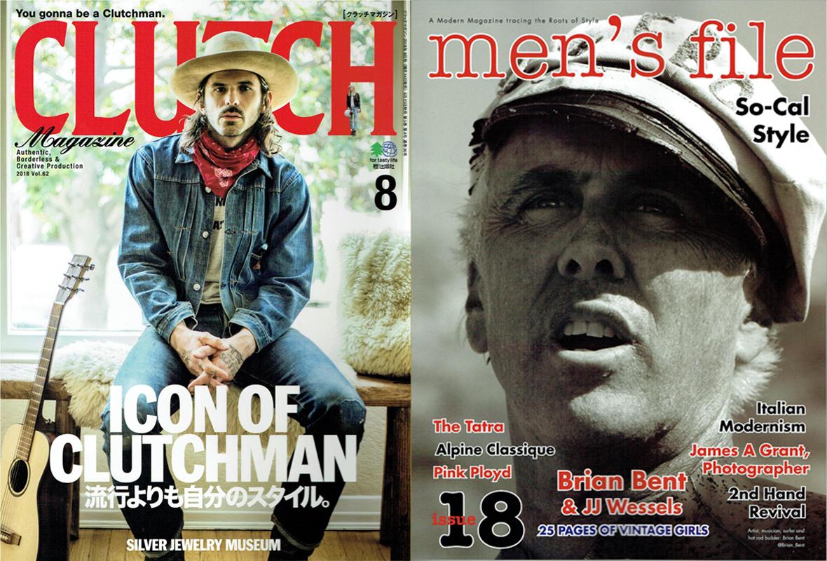 【CLUTCH Magazine×men's file Vol.62】