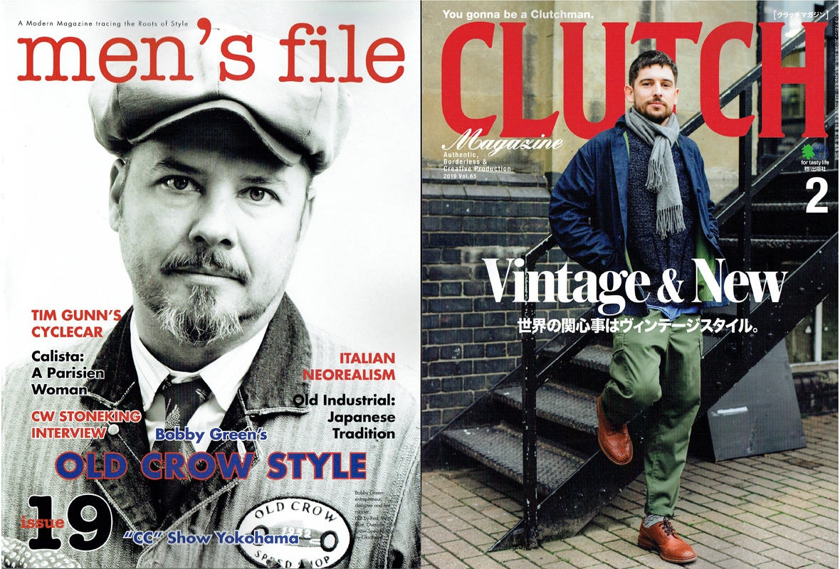 【CLUTCH Magazine×men's file Vol.65】