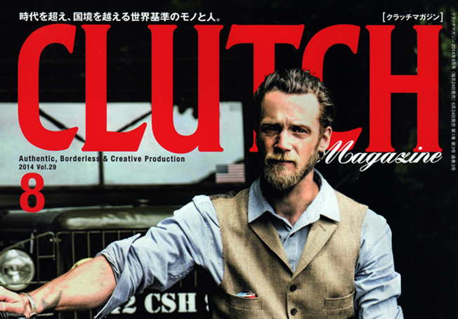 「CLUTCH × men's file」