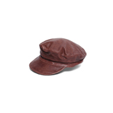 Leather Captains Hat - CA