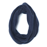 Indigo Dyed Cashmere Snood - CS