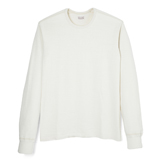 Loop Wheel Long Sleeve Crew Neck - CL