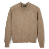 Mohair Blended Crewneck Sweater - MS