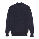 U.S. Army Inspired Indigo High Neck Sweater - UH