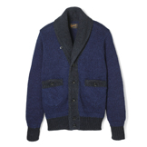 Indigo Shawl Collar Cardigan - IS