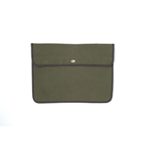 SCC x SOC Waxed Cotton Clutch Bag - SSC3