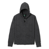 Cable Knit Pullover Hoodie - CP