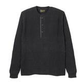 Waffle Knit Henley Long - KL