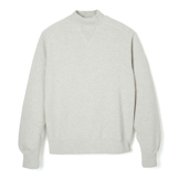 Loop Wheel High Neck Sweatshirt - HS