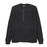 Waffle Knit Henley Long - KL