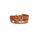 Narrow Belt w/ Studs & Conchos – NBC