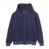 Detachable Hooded Athletic Jacket - DA