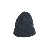 Indigo Cable Knitted Cap - KC1
