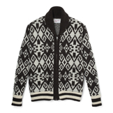 Native Pattern Cowichan Sweater - CS1
