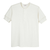 Loop Wheel Short Sleeve Henley - SH