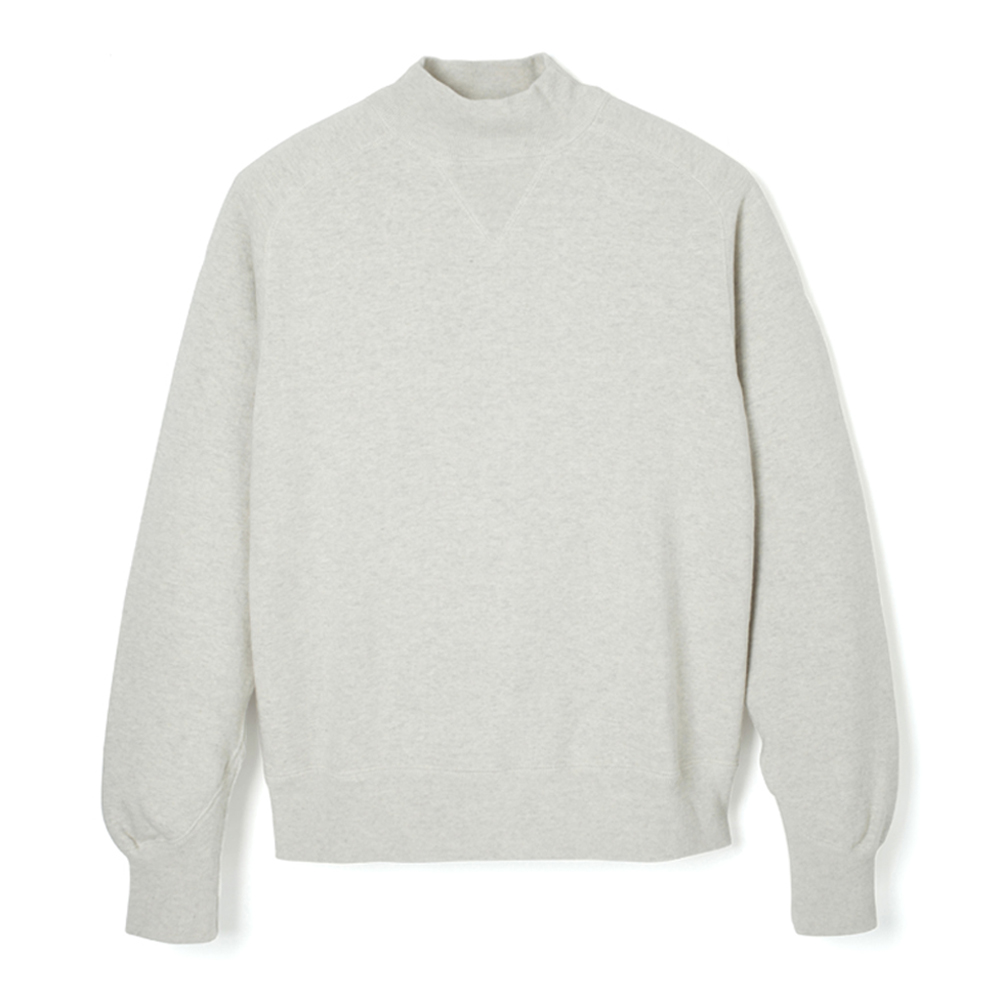 Loop Wheel High-Neck Sweatshirt - HS