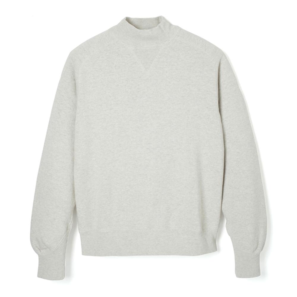 Loop Wheel High-Neck Sweatshirt - HS