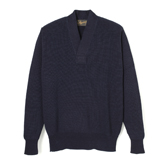 U.S. Army Indigo V Neck Sweater - UV