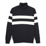 Athletic Turtleneck Sweater - AT